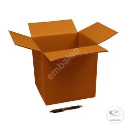 Carton simple cannelure 23 x 21 x 24 cm