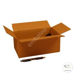 Carton simple cannelure 25 x 15 x 10 cm