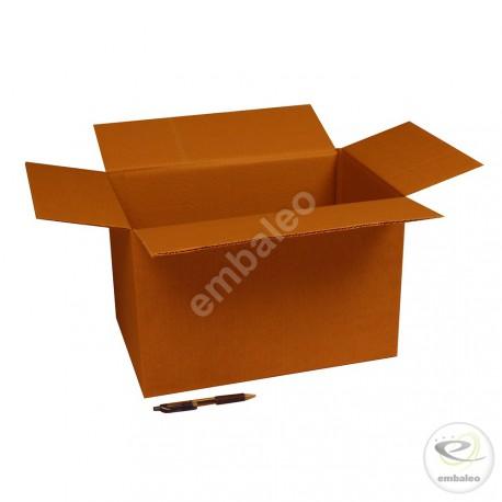 Carton simple cannelure 38x25x24 cm
