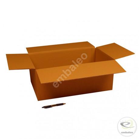Carton simple cannelure 50 x 30 x 20 cm