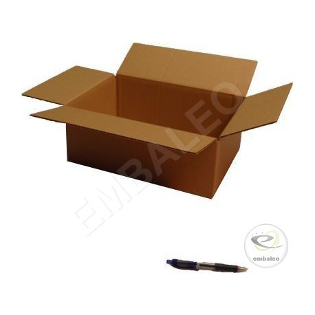 Cartons standards 35,5 x 24 x 13 cm