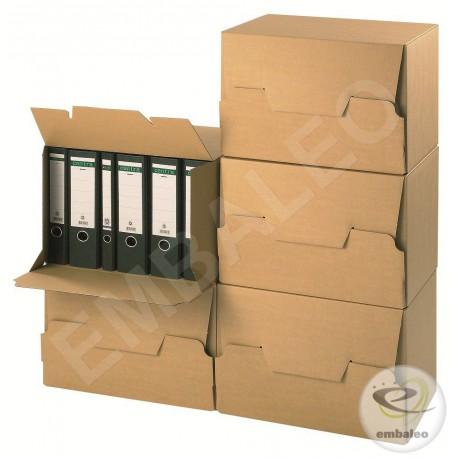 containers pour boites archives a4 42 6 x 32 4 x 30 cm. Black Bedroom Furniture Sets. Home Design Ideas