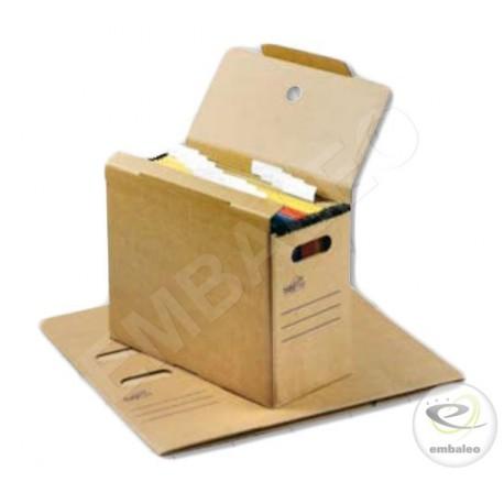 Boite archives pour dossiers suspendus A4 32,5 x 16 x 27,7 cm
