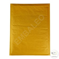 Enveloppe bulle marron H Mail Lite Gold 27 x 36 cm