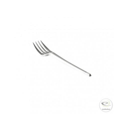 Fourchette jetable en plastique 165 mm