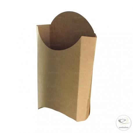 Cornet à frites en carton 170 mm