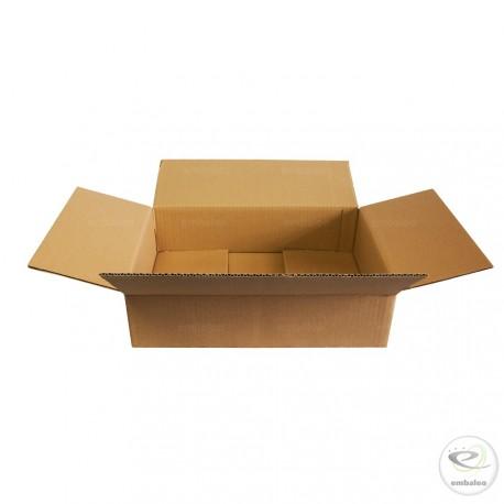 Carton simple cannelure 41,5 x 31 x 11 cm