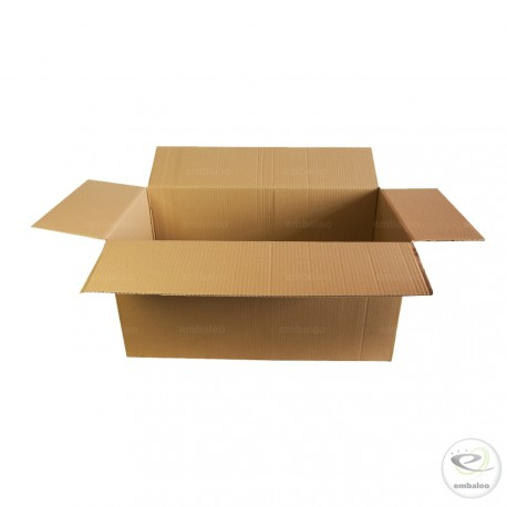 Carton simple cannelure 69 x 33,5 x 33,5 cm