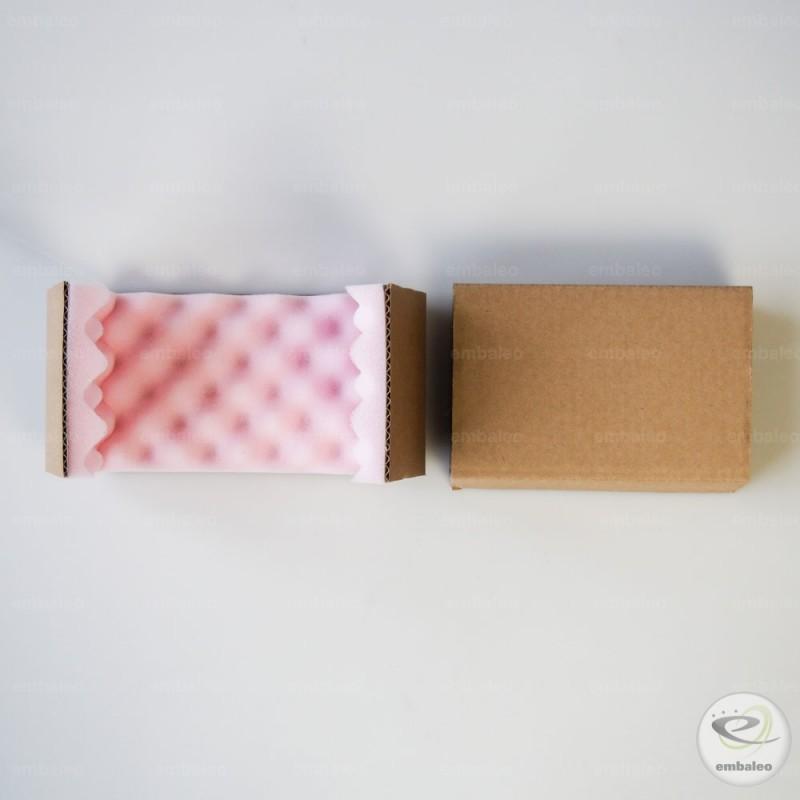 boite postale en fourreau avec calage en mousse 18x12x5 cm. Black Bedroom Furniture Sets. Home Design Ideas