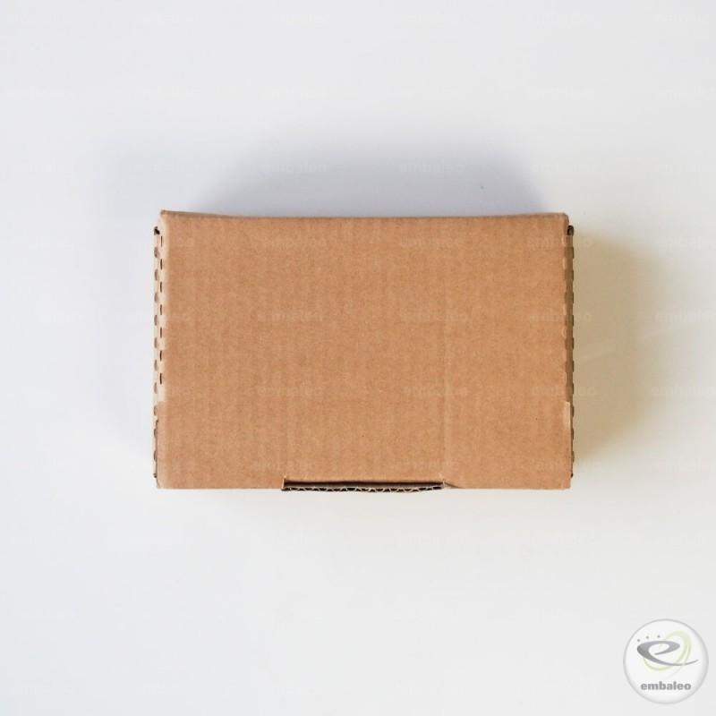 boite postale en forme d 39 tui d coup avec calage en mousse 18x12x5 cm. Black Bedroom Furniture Sets. Home Design Ideas