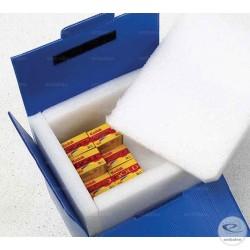 Caisse isotherme 48h réutilisable en plastique et mousse de polyéthylène