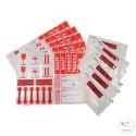 Kit d'expédition avec étiquettes et pochettes DCI