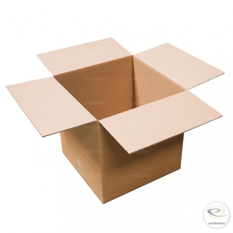 Carton double cannelure 45 x 45 x 45 cm