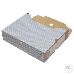 Boites archives grise 32,2 x 7,8 x 24,9 cm