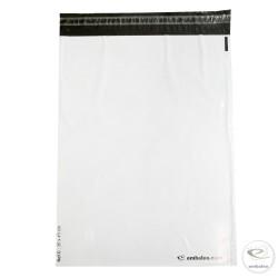 Pochettes plastiques opaques Embaleo n°2 35 x 45 cm 55µ