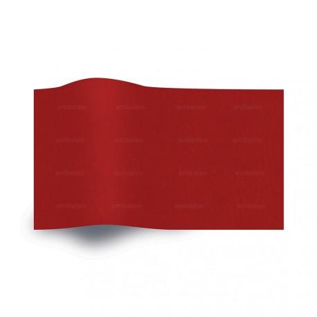 Papier de soie rouge vif