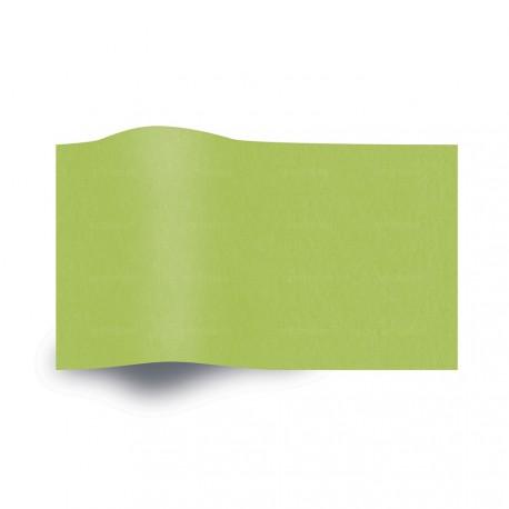 Papier de soie vert citrus