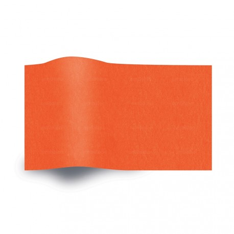 Papier de soie orange