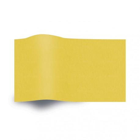Papier de soie jaune