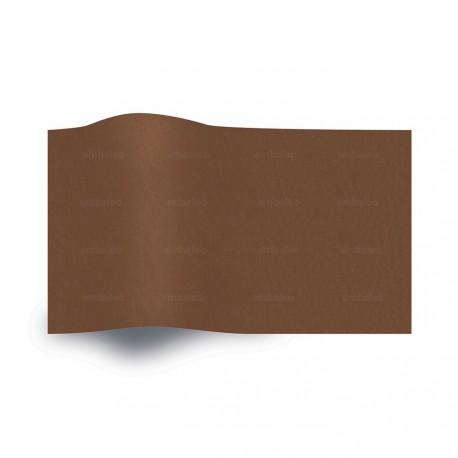 Papier de soie marron chocolat
