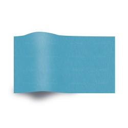 Papier de soie bleu turquoise