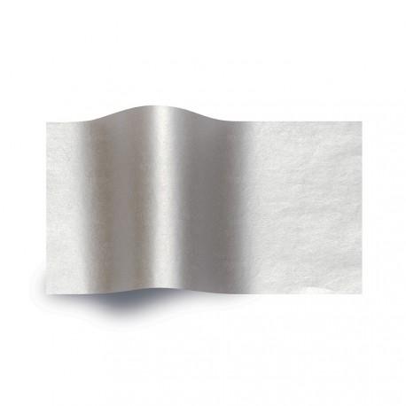 Papier de soie argent