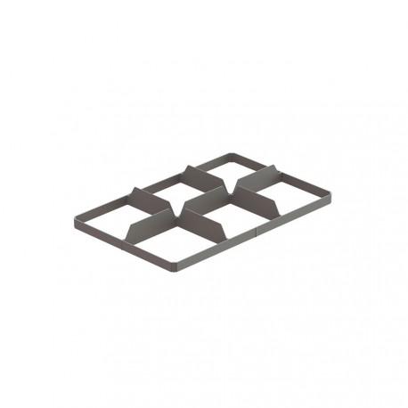 Alvéoles inférieures 6 compartiments pour verres