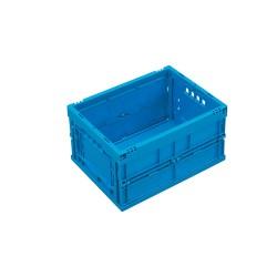 Caisse plastique pliable pleine 40 x 30 x 22 cm
