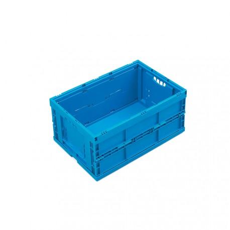 Caisse plastique pliable pleine 60 x 40 x 26 cm
