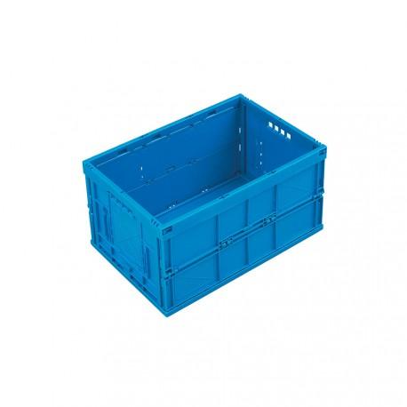 Caisse plastique pliable pleine 60 x 40 x 32 cm