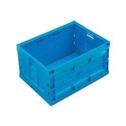 Caisse plastique pliable pleine 80 x 60 x 44,5 cm