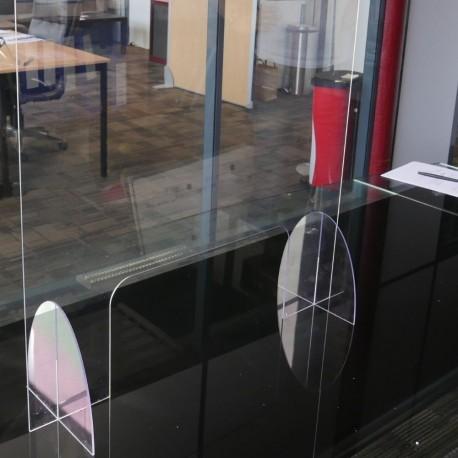 Hygiaphone plexiglass transparent 68 x 76 cm