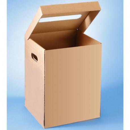 Corbeille à papier en carton 36L