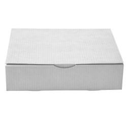 Boite Postale blanche grand livre 33 x 25 x 8 cm