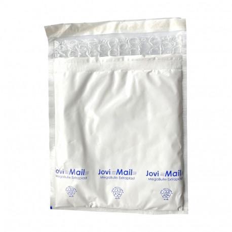 Enveloppe bulle plastifiée E MegaBulle Extraplast Blanche 22 x 25 cm