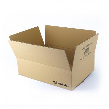 Carton simple cannelure 45 x 32 x 12 cm