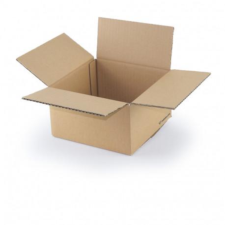 Carton simple cannelure 20 x 20 x 11 cm