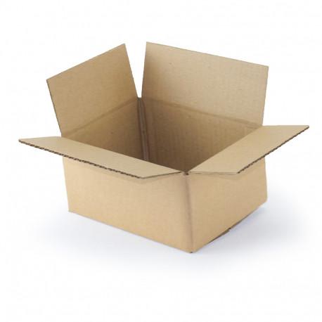 Carton simple cannelure 20 x 15 x 9 cm