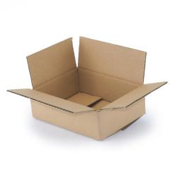 Carton simple cannelure 20 x 15 x 6 cm