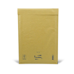 Enveloppe bulle marron F Mail Lite Gold 22 x 33 cm