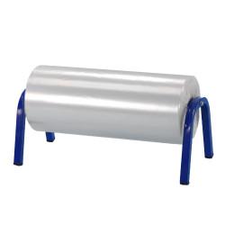 Dérouleur horizontal de gaine plastique télescopique