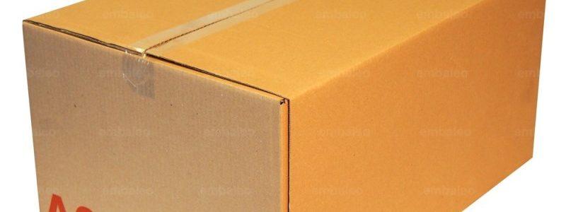Caisse carton GALIA A9 double cannelure