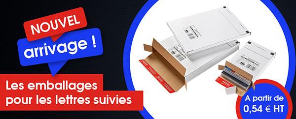 Emballage Lettre Suivie