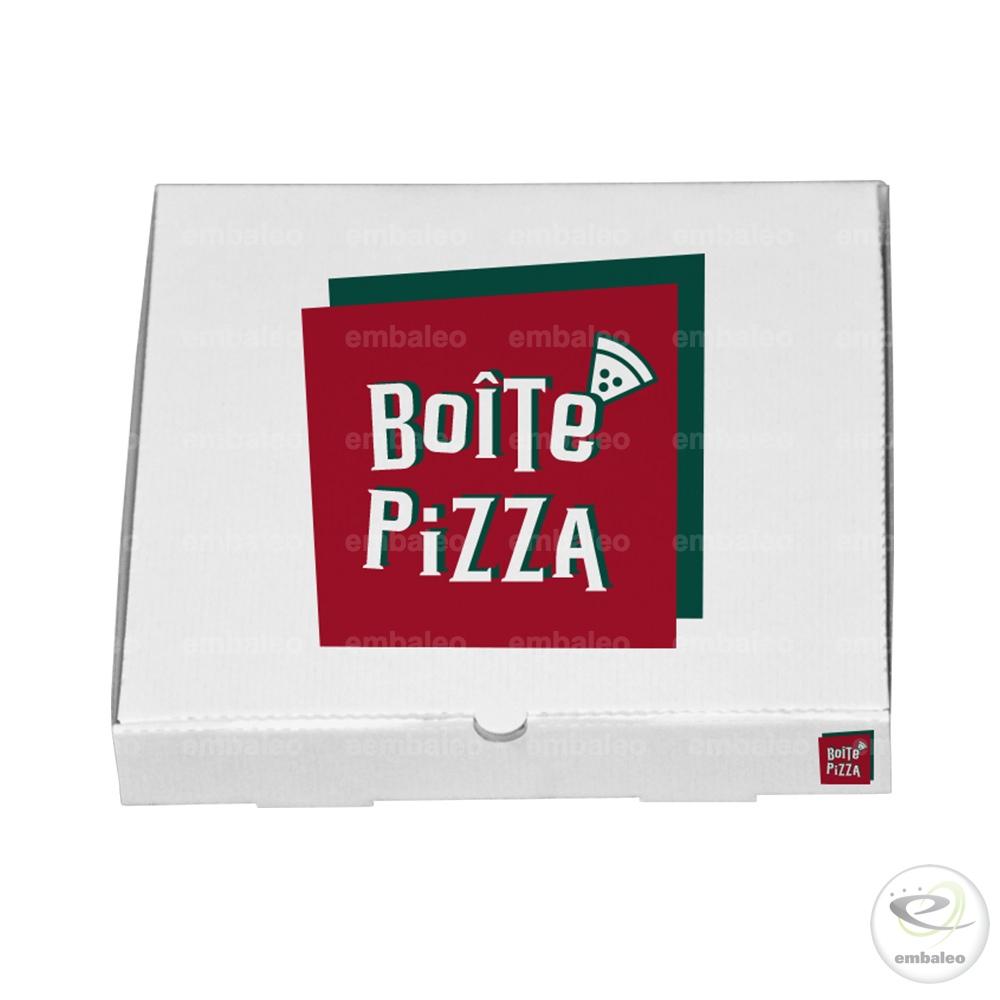 boite à pizza personnalisée