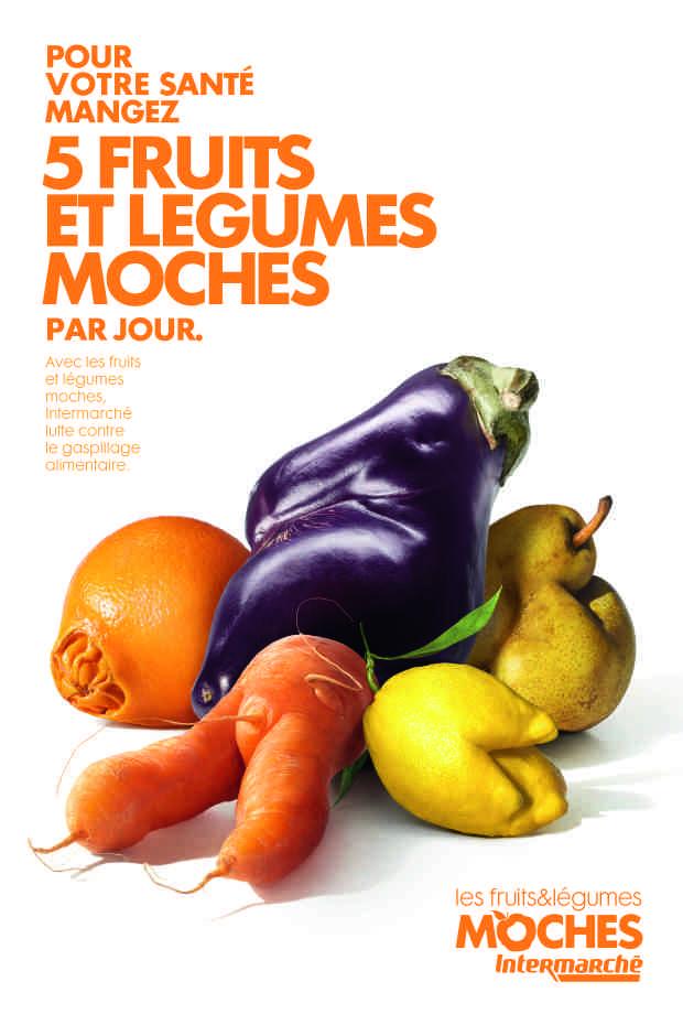 Fruits et légumes moches Intermarché