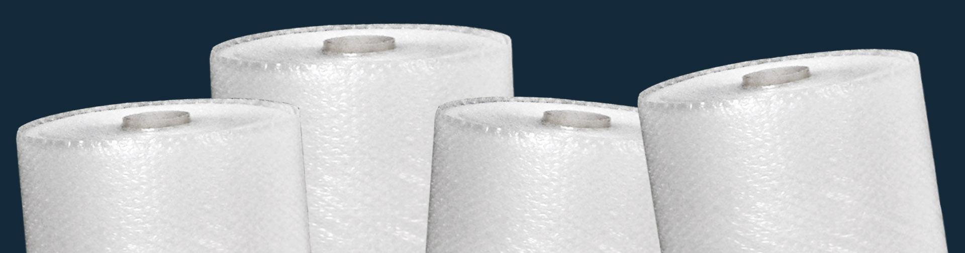 Rouleaux de papier bulle