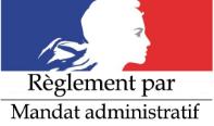 paiement mandat administratif