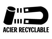 logo Acier Recyclable