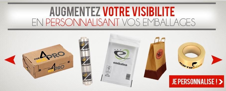 Augmentez votre visibilité en personnalisant vos emballages